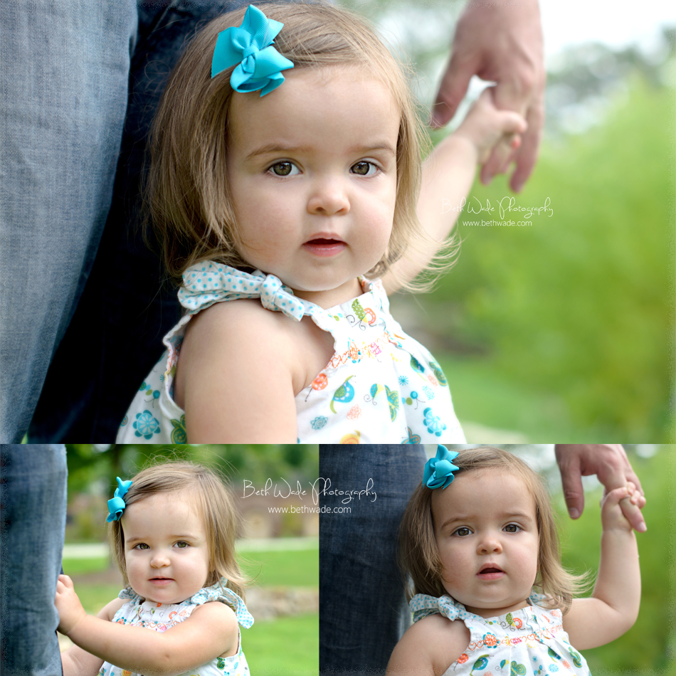 17 month old {baby girl} lake wylie-rock hill family photographer ...
