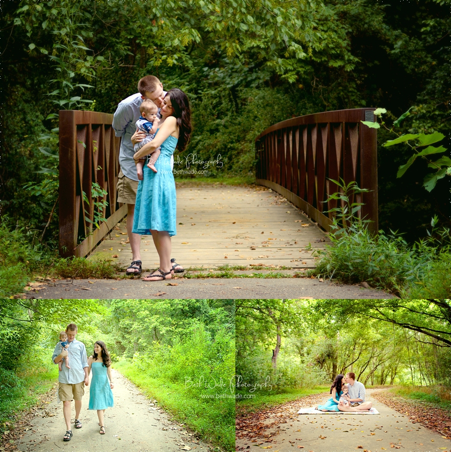 winston-salem family photographer - wake forest campus