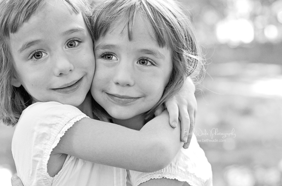 twin girls - fort mill family photographer