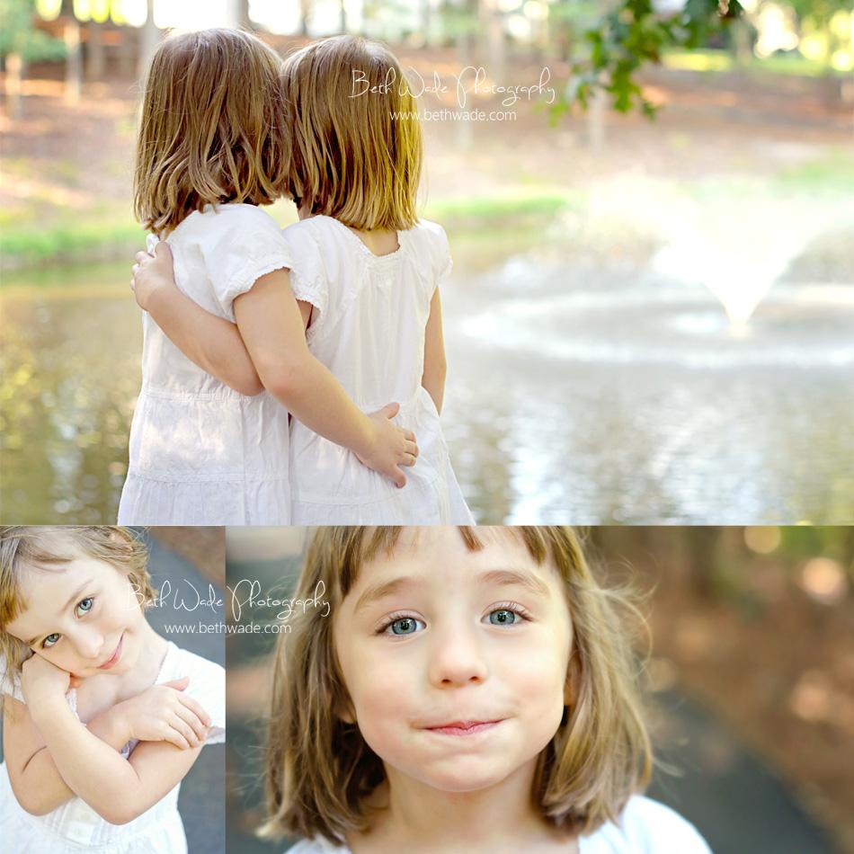 twin girls! charlotte-fort mill kids family photographer