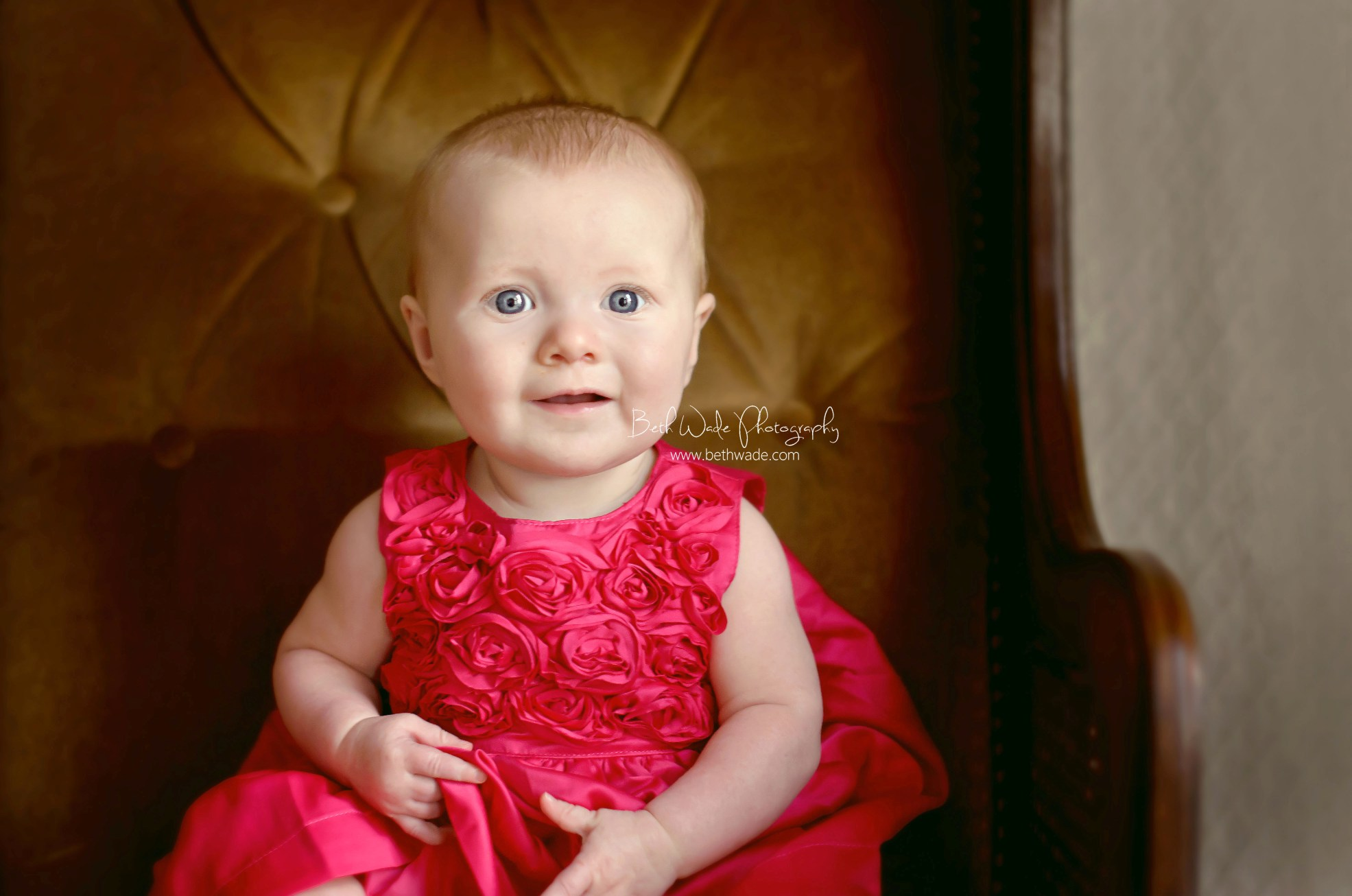 6 month old baby girl - charlotte baby photographer