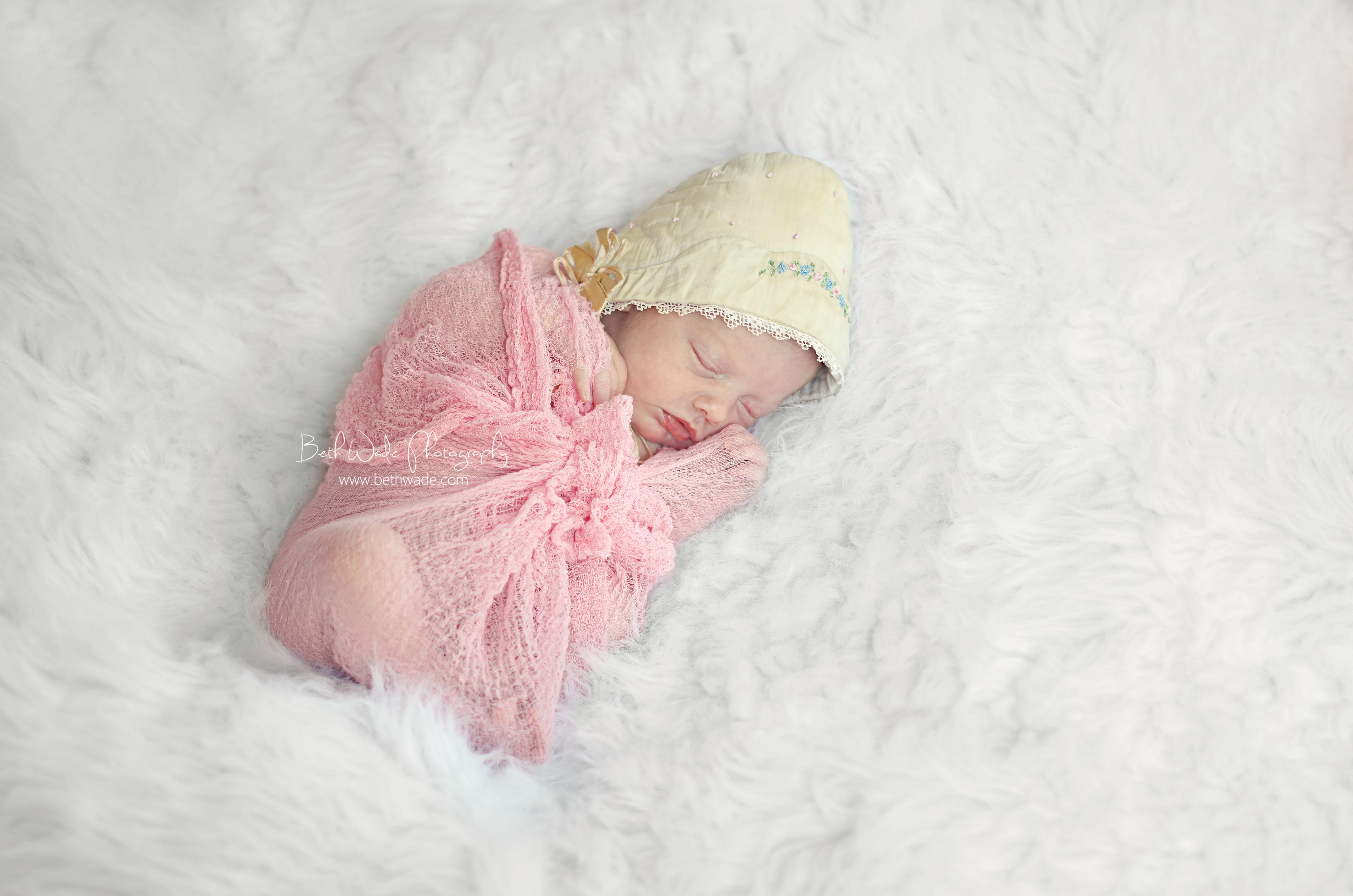 10 day old baby girl charlotte newborn photographer