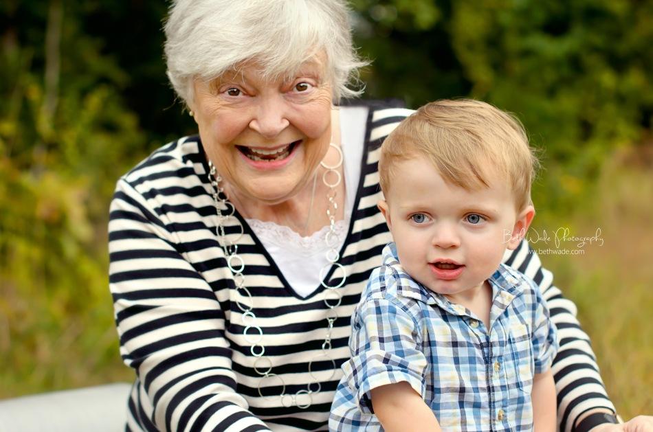 grandmother photos - charlotte family photographer