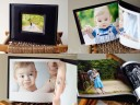 proof album with digital CD - charlotte family photographer