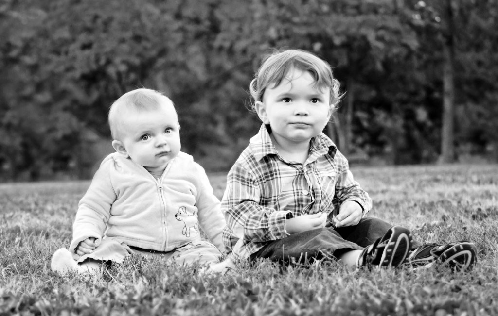 my boys in autumn - charlotte family photographer