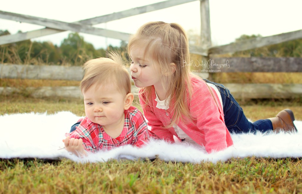 sisters! at the ranch (charlotte baby photographer}