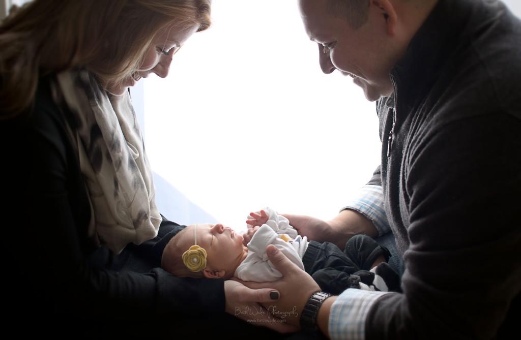 7 day old baby girl - charlotte newborn photographer