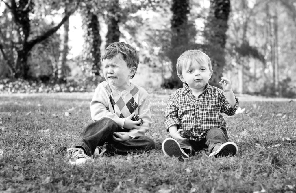 my boys - photographers child syndrome