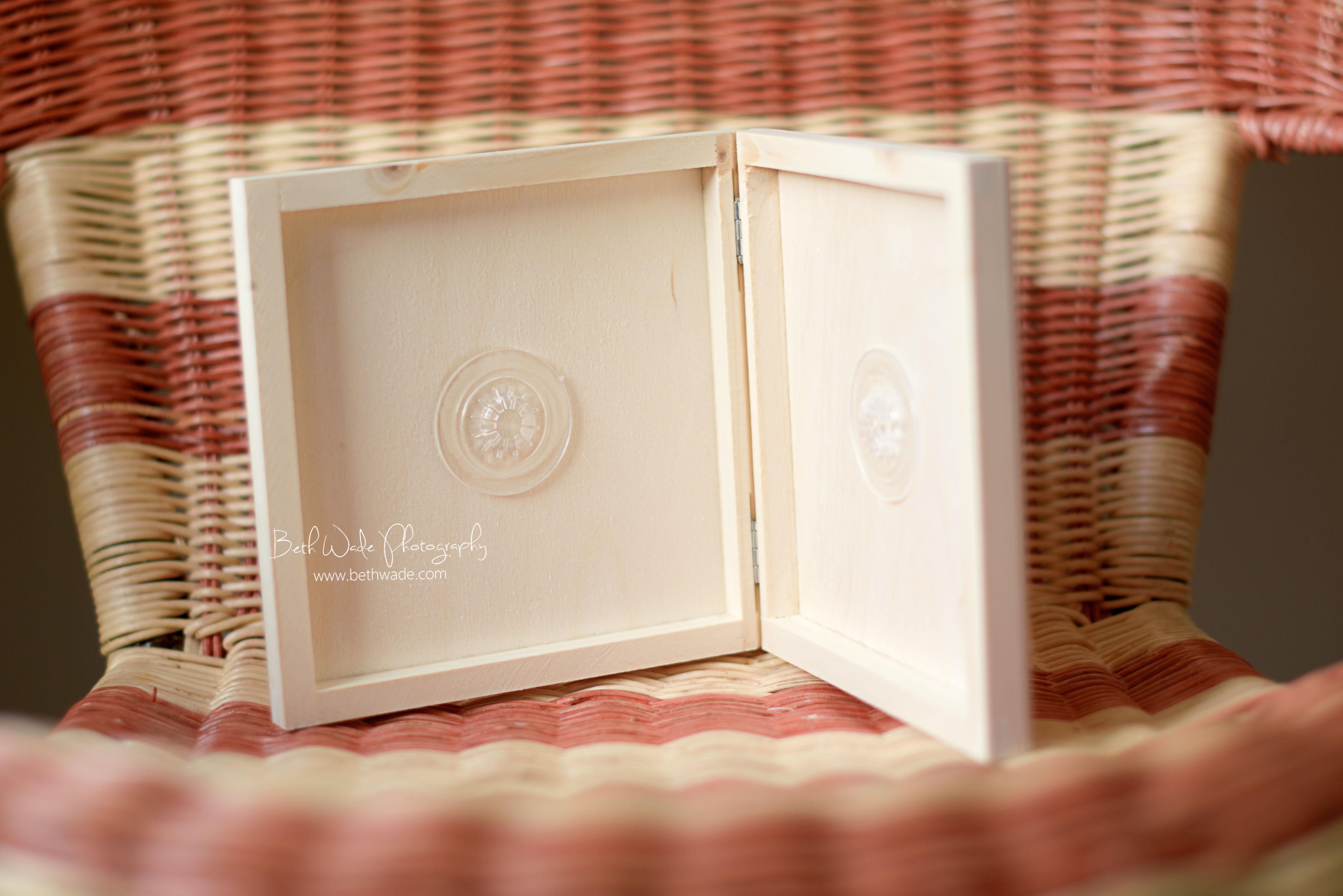 handmade natural wood cd case - beth wade photography