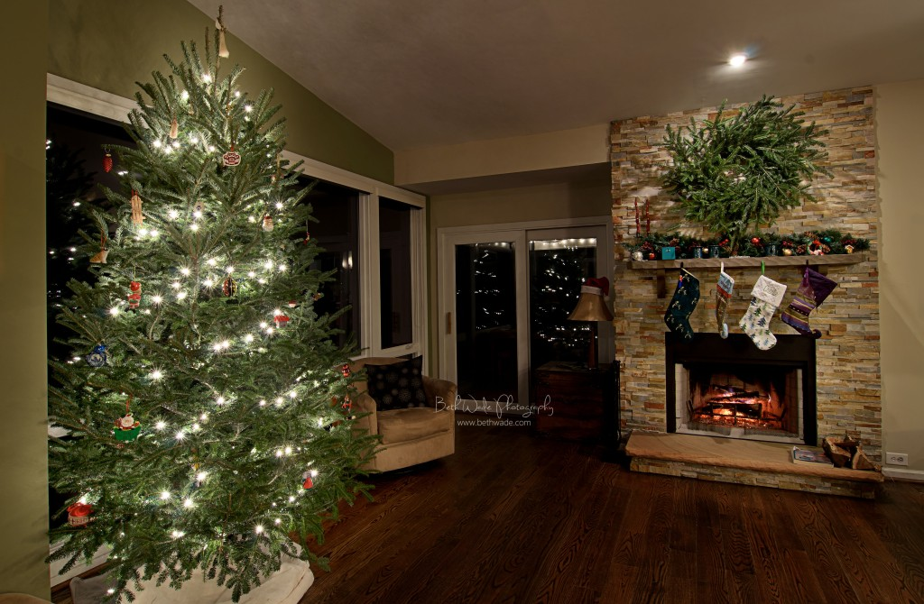 christmas tree photo - home for the holidays - charlotte family photographer