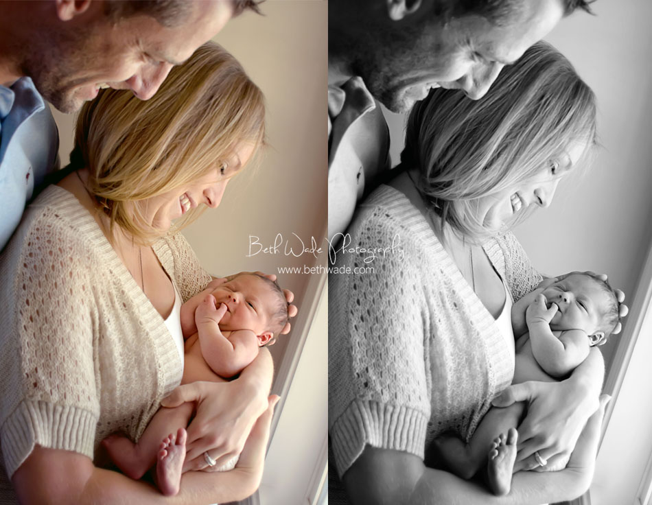 7 day old baby boy - charlotte newborn photographer