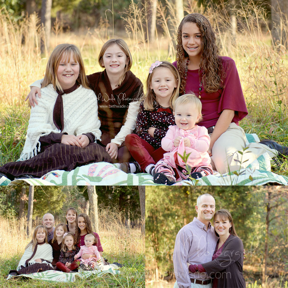 large family 5 sisters - charlotte family photographer