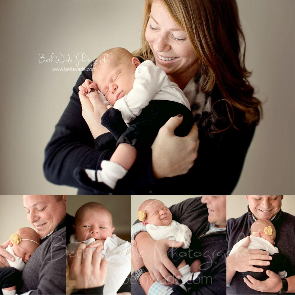6 day old baby girl - charlotte newborn photographer