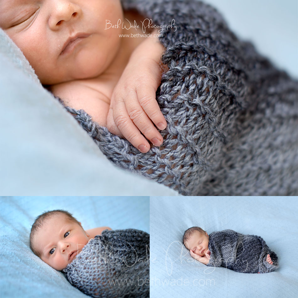 7 day old baby boy - charlotte newborn photographer