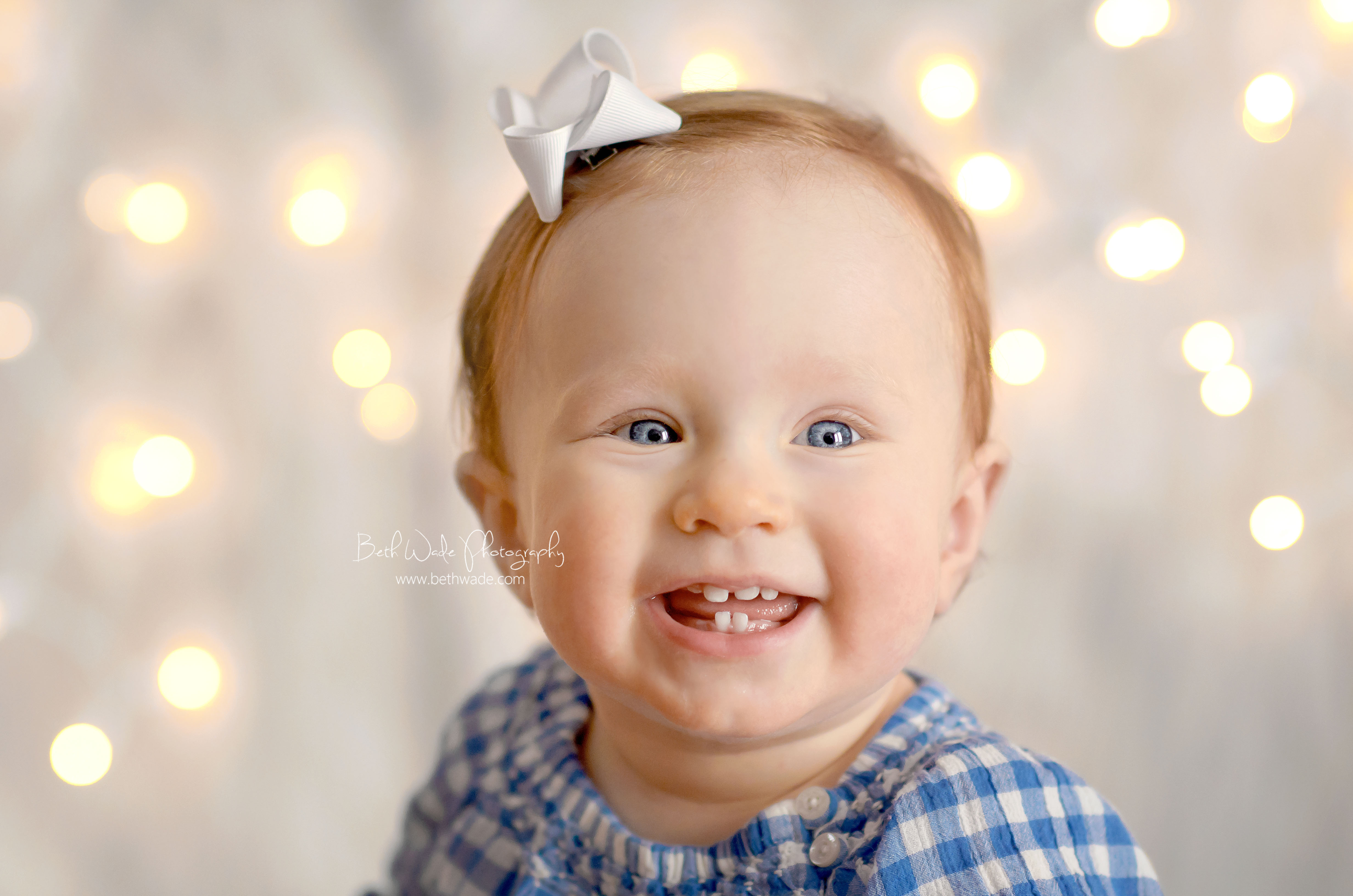 1 year old baby girl - charlotte family photographer