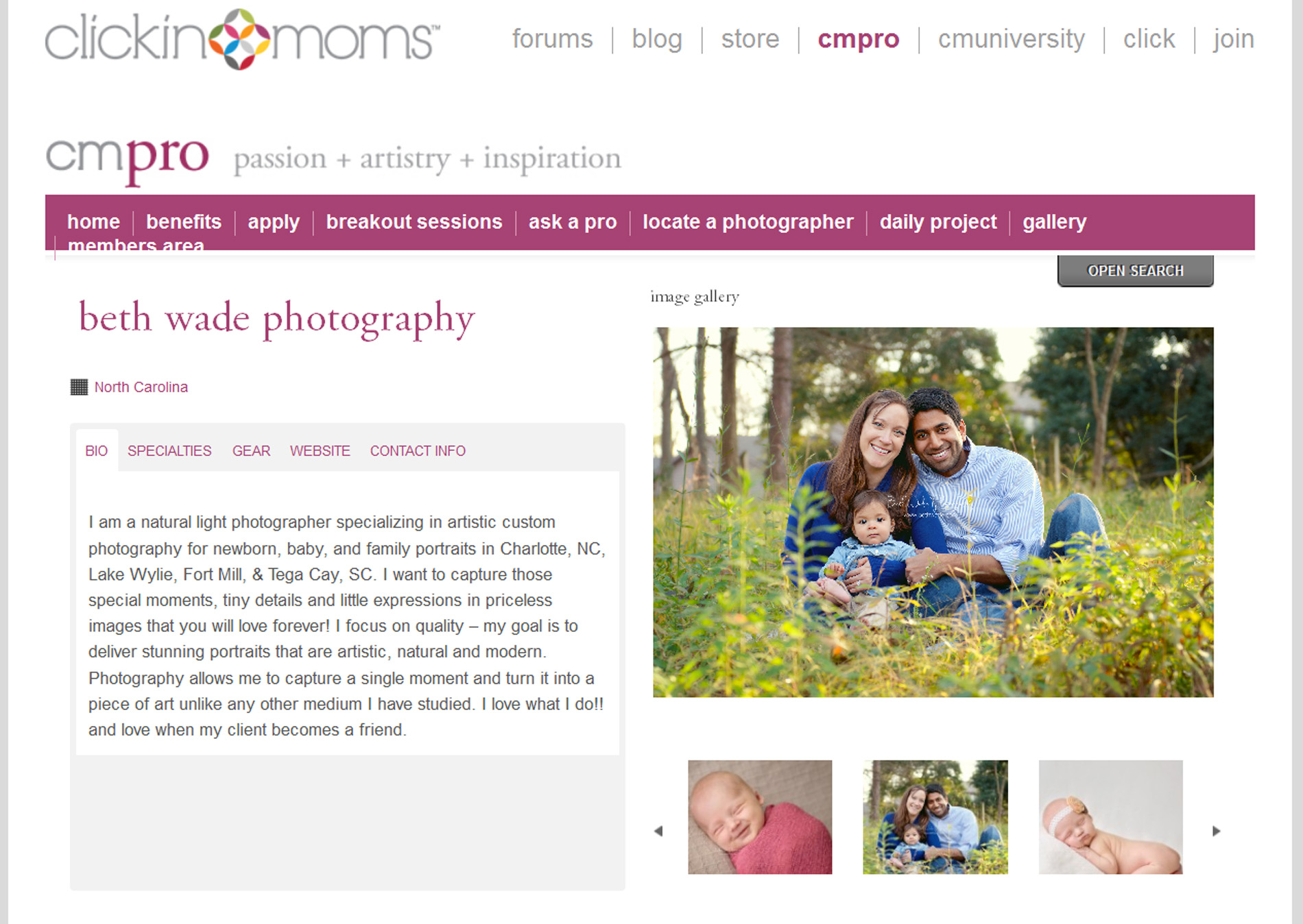 CMPro - Beth Wade Photography