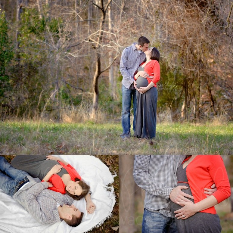 spring maternity ~ almost family of 3 {charlotte newborn photographer}