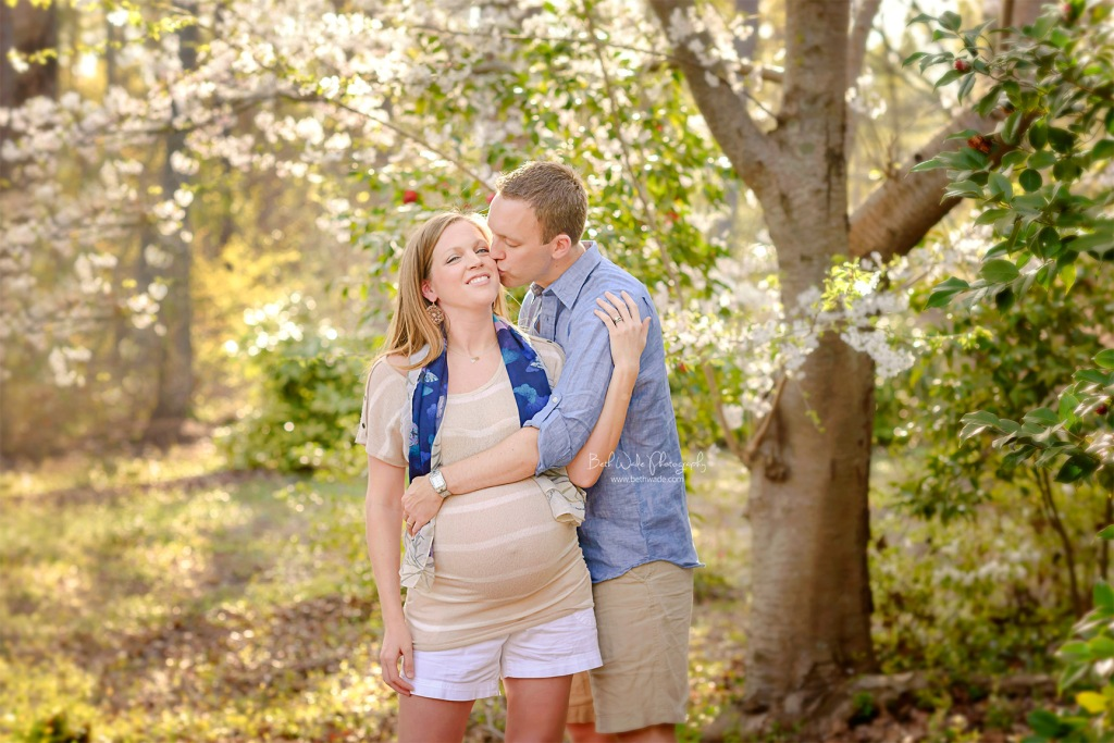 springtime baby girl ~ almost family of 5 {charlotte maternity photographer}