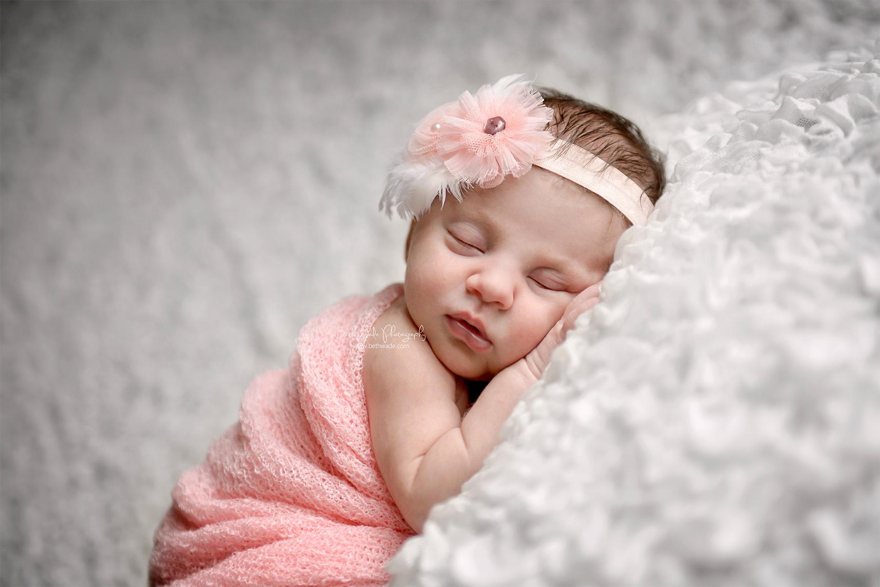 sweet 11 day old baby girl {charlotte newborn photographer}