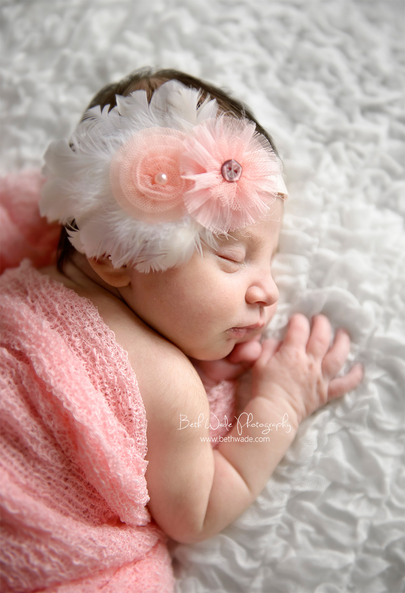 11 days new baby girl ~ family of 3 {charlotte newborn photographer}