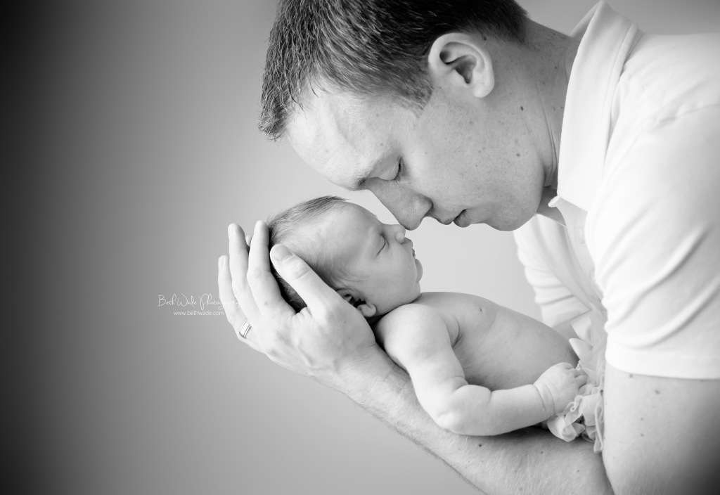 13 days new baby girl ~ family of 5 {charlotte newborn photographer}