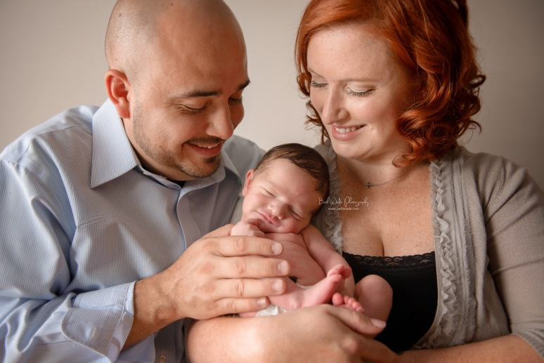 handsome 8 day old baby boy {charlotte newborn photographer}