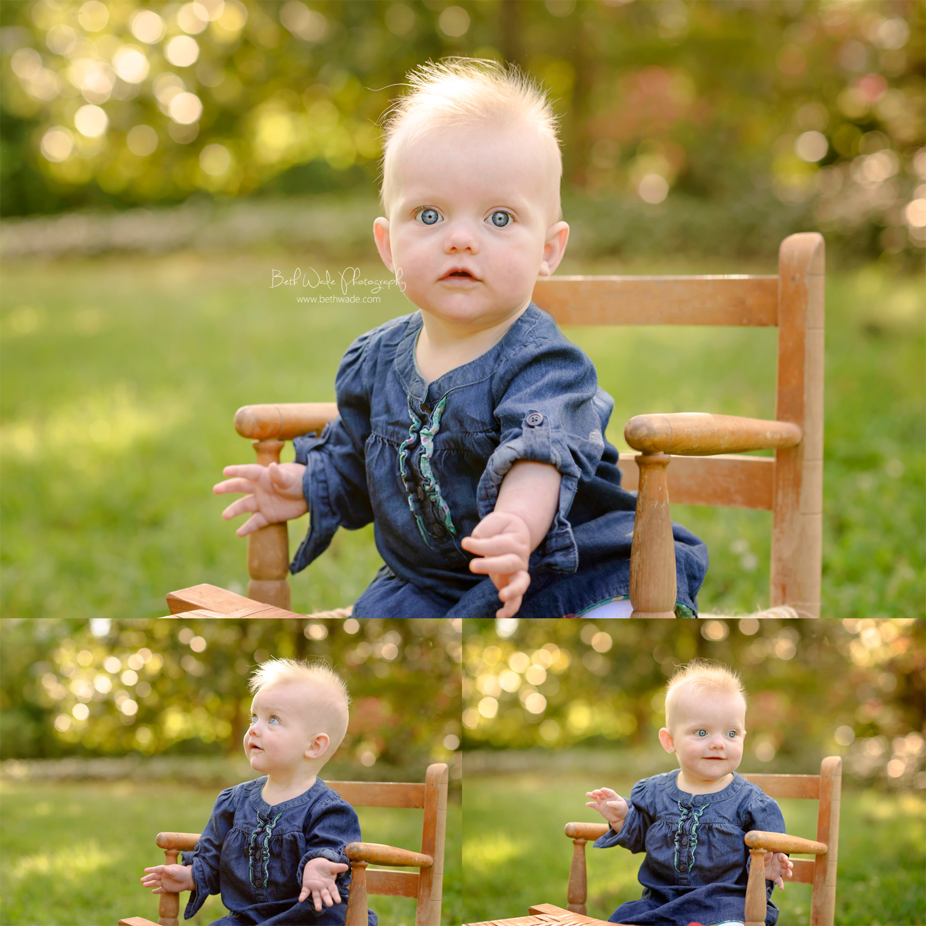 6 month old baby girl ~ family of 4 {charlotte baby photographer}