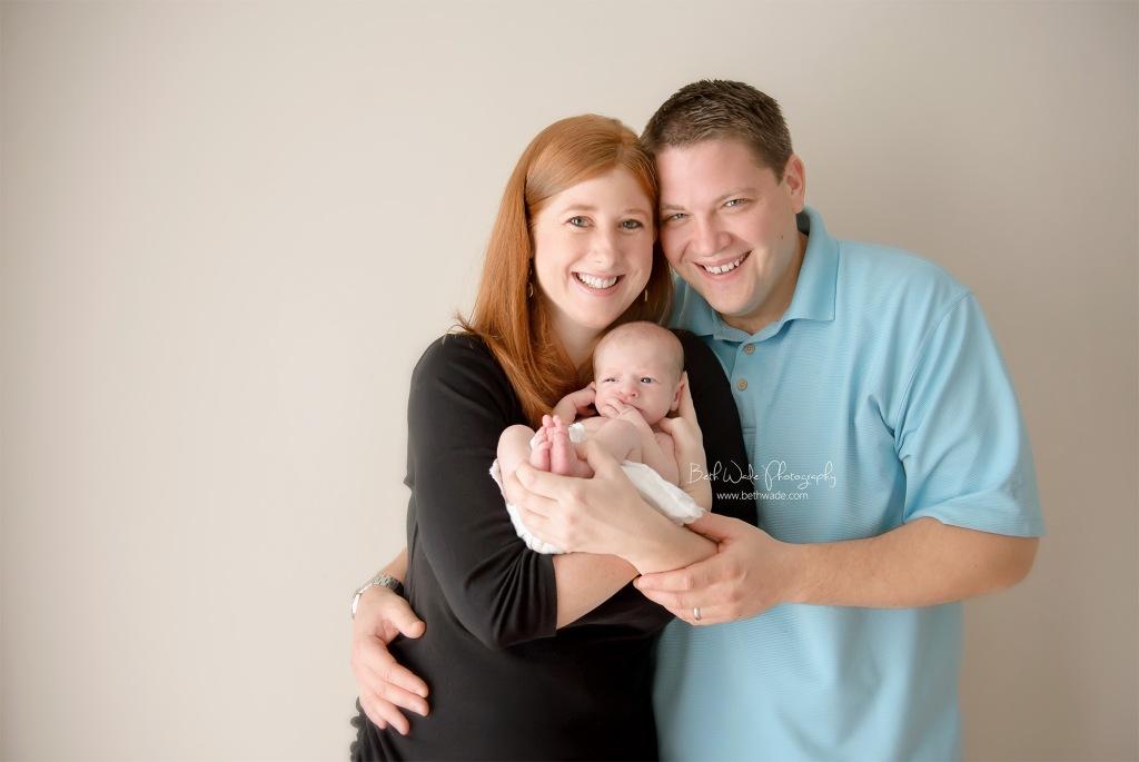16 day old baby boy {charlotte newborn photographer}