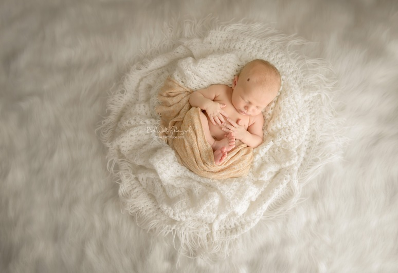19 days new baby boy ~ family of 3 {charlotte newborn photographer}