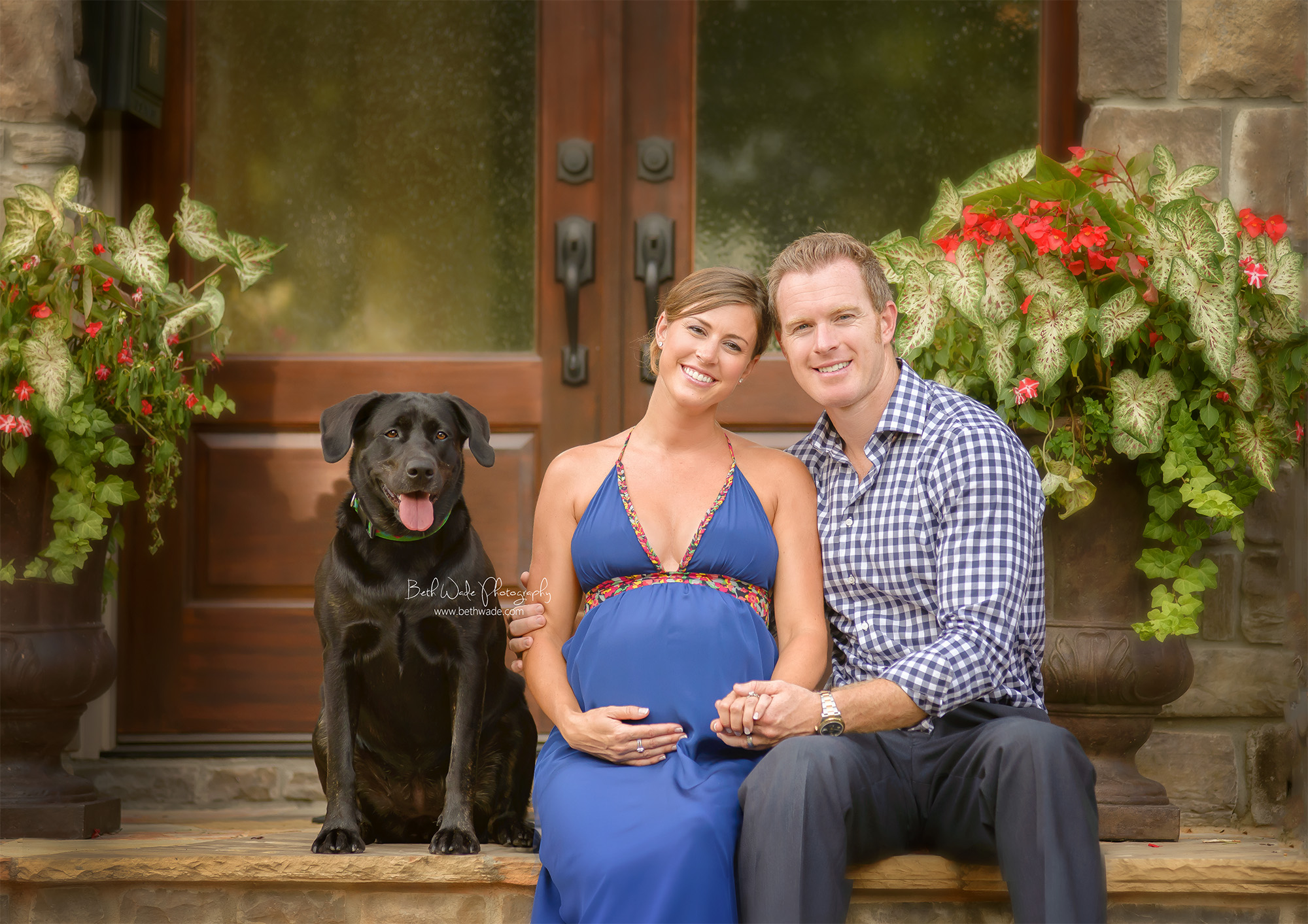 "late summer baby boy ~ almost family of ""4"" {charlotte maternity photographer}"