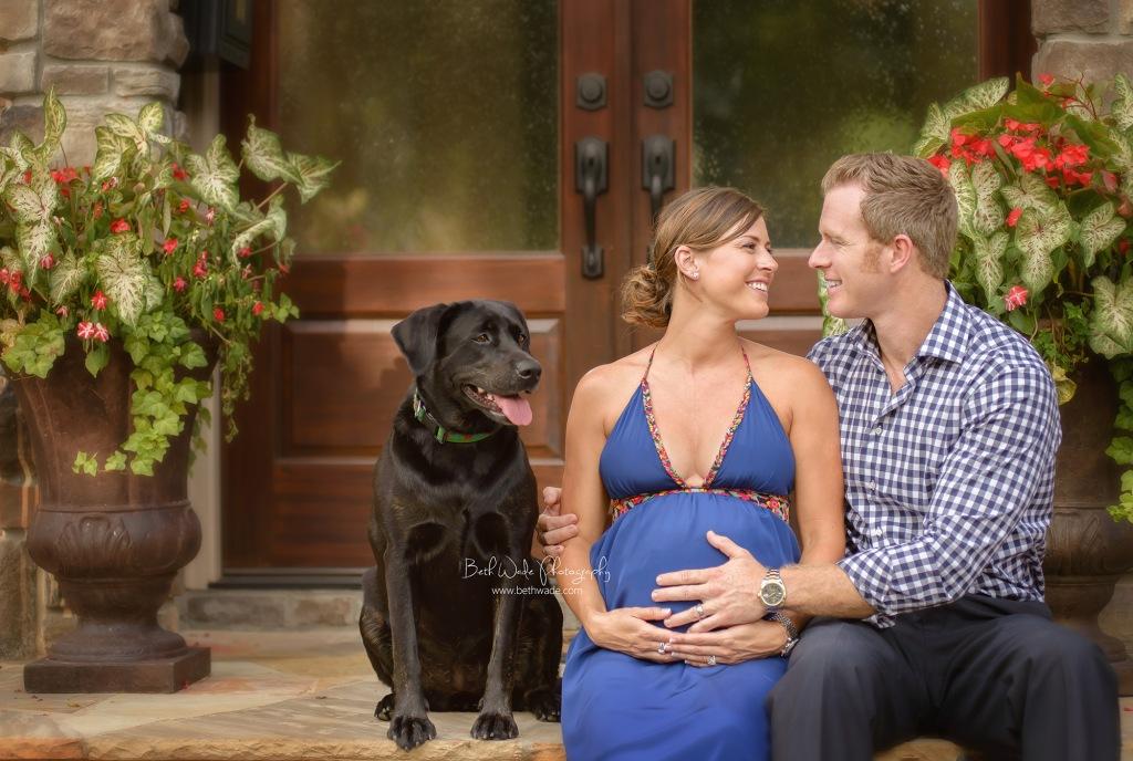 "september baby boy ~ almost family of ""4"" {charlotte maternity photographer}"