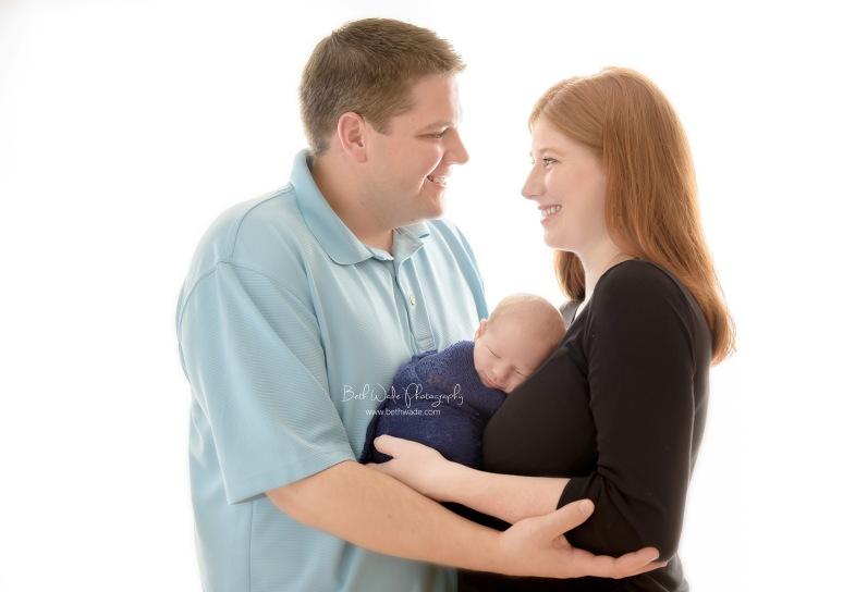 16 days new baby boy {charlotte newborn photographer}
