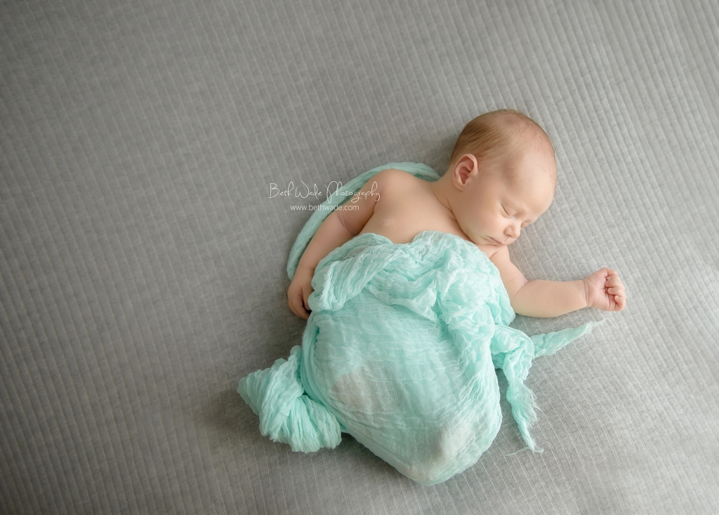 20 day old baby boy ~ family of 4 {charlotte newborn photographer}