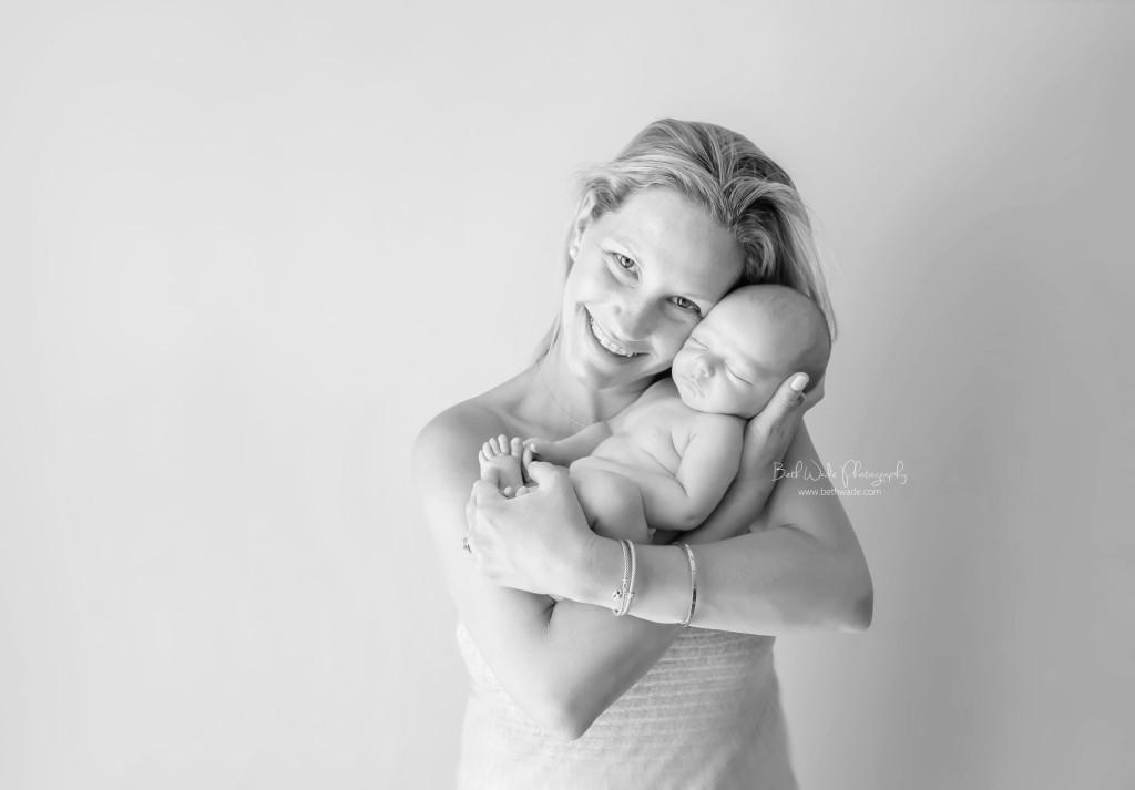 20 days new baby boy ~ family of 4 {charlotte newborn photographer}