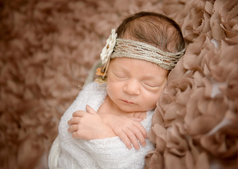2 week old baby girl ~ family of 3 {charlotte newborn photographer}