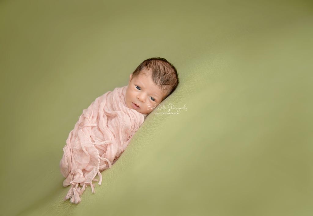 2 weeks new baby girl ~ family of 3 {charlotte newborn photographer}