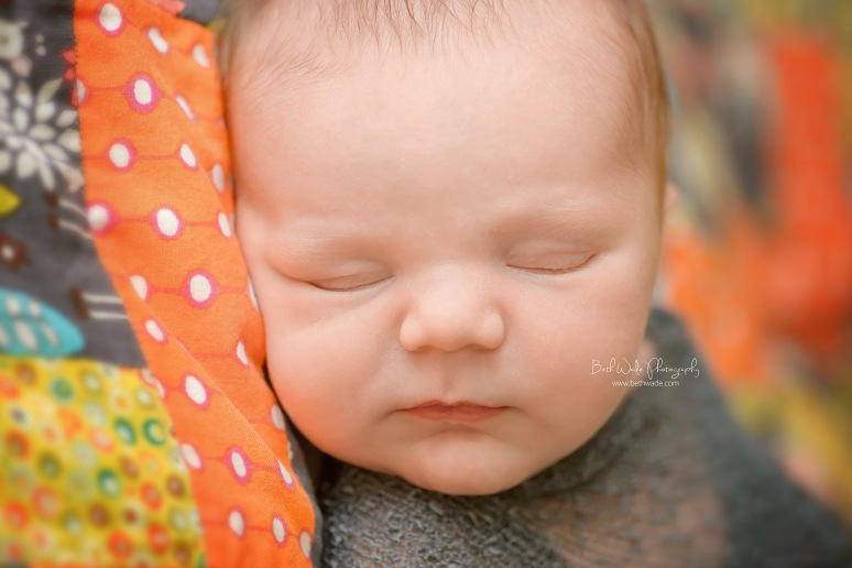 14 days old baby boy ~ family of 4 {charlotte newborn photographer}