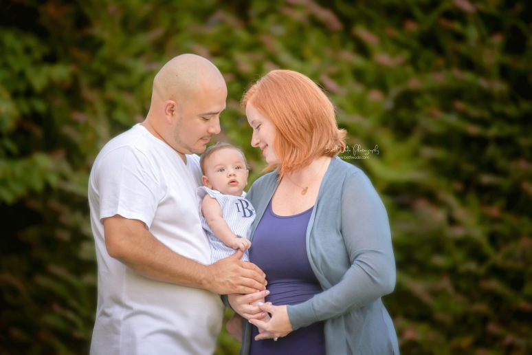 baby boy B is 3 months old! ~ family of 3 {charlotte baby photographer}