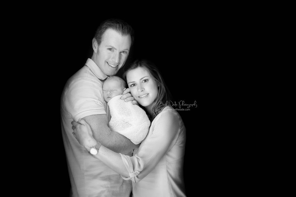 "happy 6 days old baby boy ~ family of ""4"" {charlotte newborn photographer}"