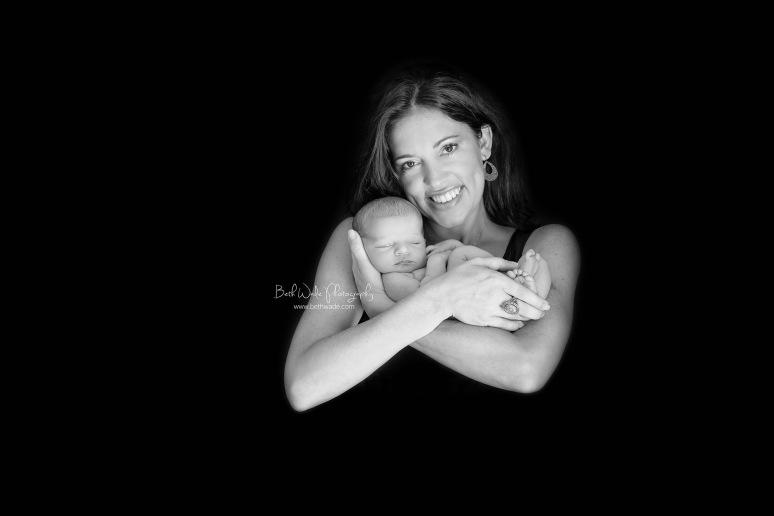 wide awake baby girl of 11 days ~ family of 3 {south charlotte newborn photographer}