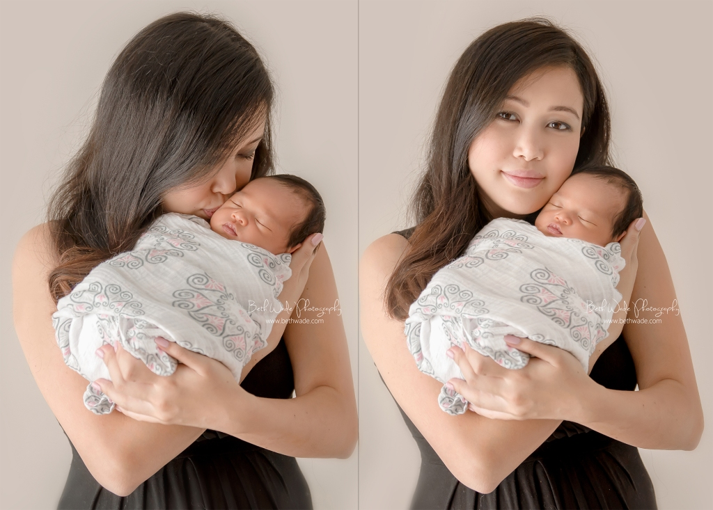 baby girl 7 days new ~ family of 5 {south charlotte newborn photographer}