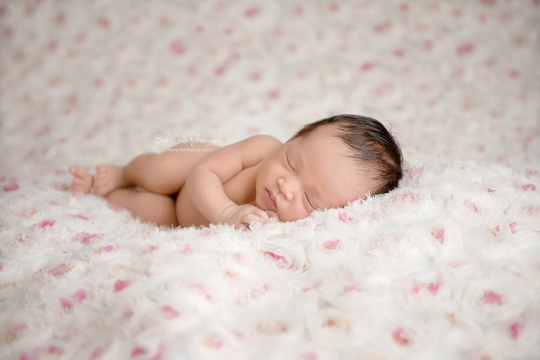baby girl 7 days new ~ family of 5 {south charlotte newborn photographer}