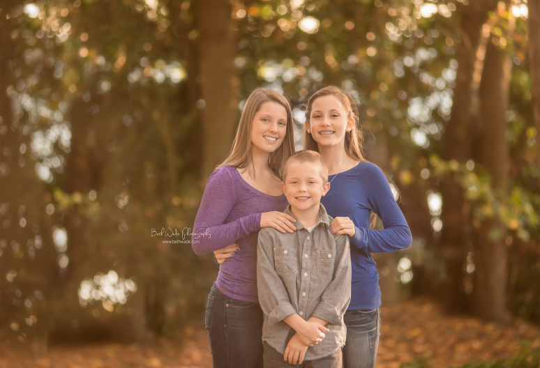 family of 5 falling in love with autumn {fort mill sc family photographer}