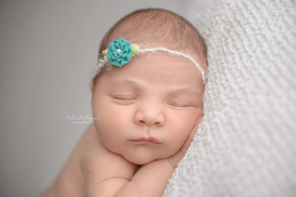happy girl at 14 days old ~ family of 4 {north carolina newborn photographer}