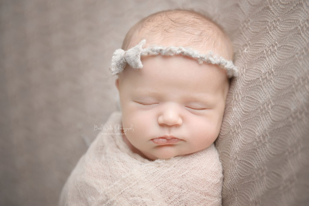 the littlest sister at 11 days young ~ {charlotte newborn photos}