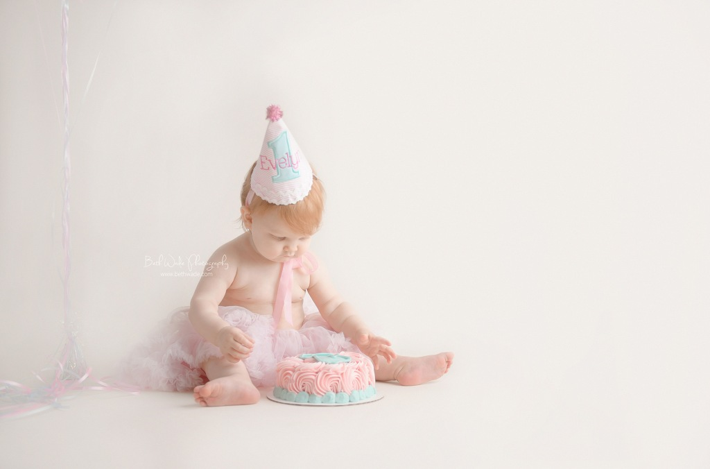 the cake smash ~ baby e turns 1! {charlotte child photographer}