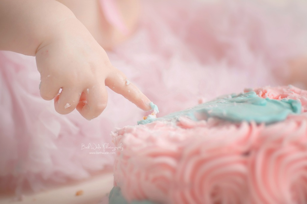 the cake smash ~ baby e turns 1! {charlotte child photographer}