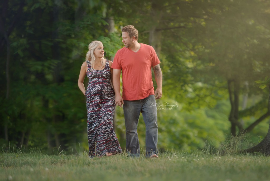 {charlotte outdoor maternity photography}