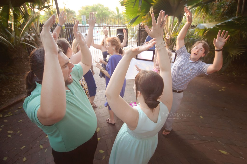 my little bro gets hitched ~ west martello garden club {key west wedding photography}