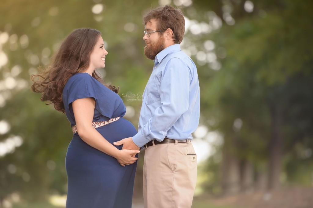 happy expecting couple {charlotte maternity photography}